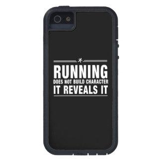 El funcionamiento no construye el carácter iPhone 5 fundas