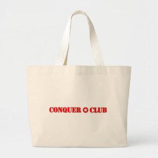 El funcionario conquista al club bolsa de tela grande