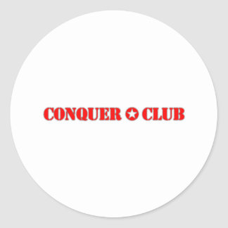 El funcionario conquista al club etiquetas redondas