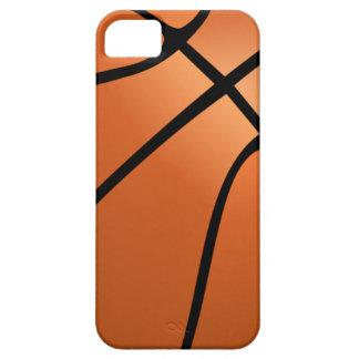 El Funda-DESNUDo del iPhone 5/5S del baloncesto iPhone 5 Fundas