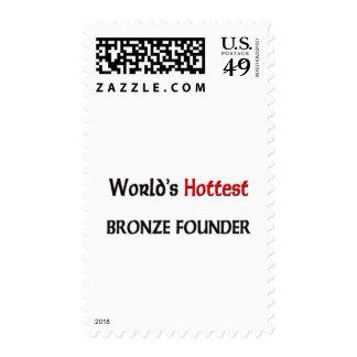 El fundador de bronce más caliente de los mundos sello