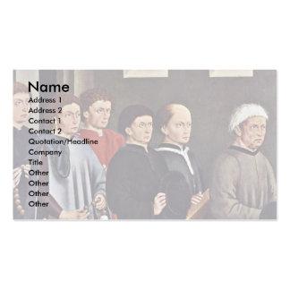 El fundador y sus hijos Jacob vulpino Plantillas De Tarjetas Personales