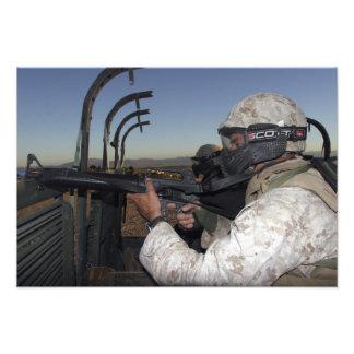 El fusilero guarda alarma fotografías