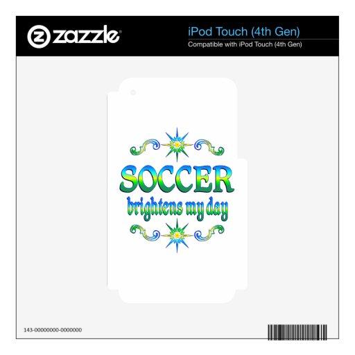 El fútbol aclara iPod touch 4G calcomanía