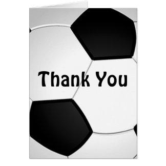 El fútbol adaptable le agradece carda el bulto o tarjeta pequeña