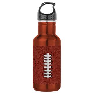El fútbol americano se divierte la botella de agua