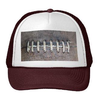 El fútbol ata horizontal gorras de camionero