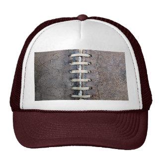 El fútbol ata vertical gorras de camionero