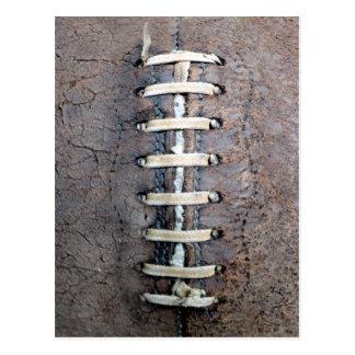 El fútbol ata vertical postales