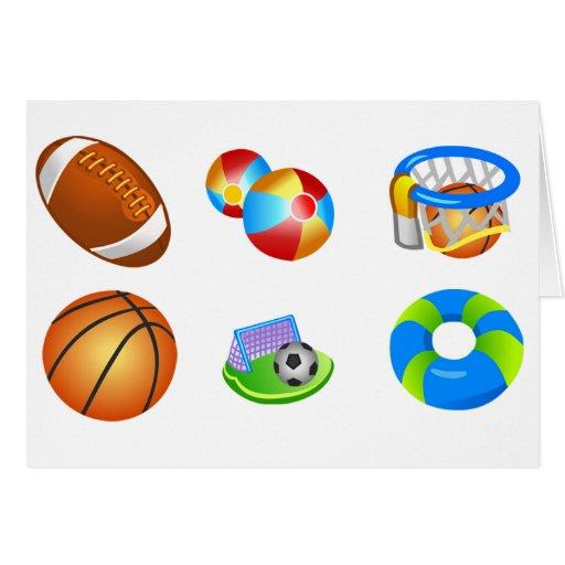 El fútbol de Beachball del fútbol del baloncesto s Tarjeton