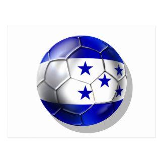 El futbol de cinco estrellas del balón de fútbol d tarjetas postales