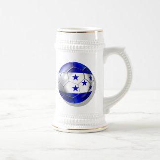 El futbol de cinco estrellas del balón de fútbol d tazas