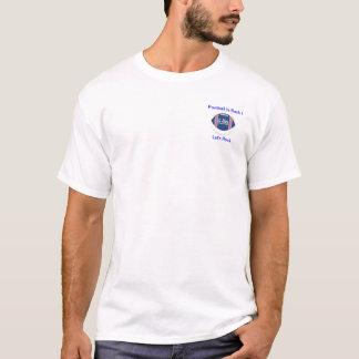 ¡El fútbol de la camiseta de los G-hombres está