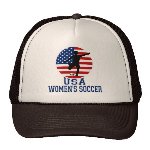 El fútbol de las mujeres de los E.E.U.U. Gorras
