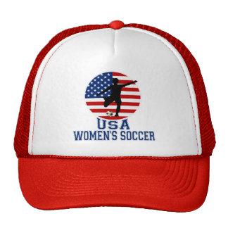 El fútbol de las mujeres de los E.E.U.U. Gorros