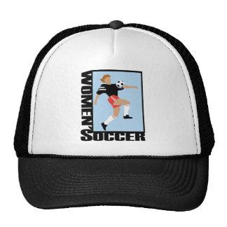 El fútbol de las mujeres gorro