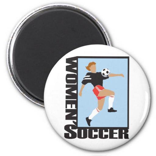 El fútbol de las mujeres imanes