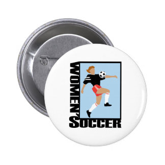 El fútbol de las mujeres pins