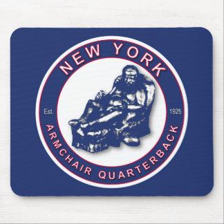 El fútbol de Nueva York del ~ del estratega de la Tapetes De Ratones