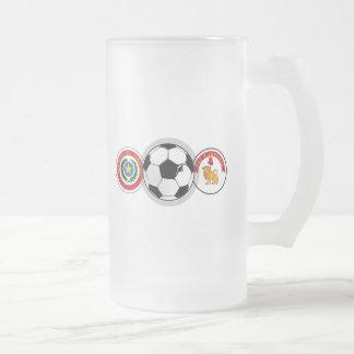 El fútbol de Paraguay badges los regalos del balón Taza