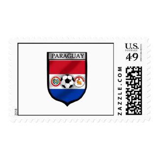 El futbol del fútbol de Paraguay aviva el escudo Envio