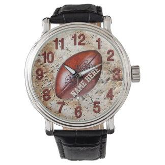 El fútbol del vintage personalizó los relojes del