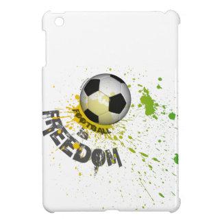 El fútbol es iPad del caso de F mini (el naranja