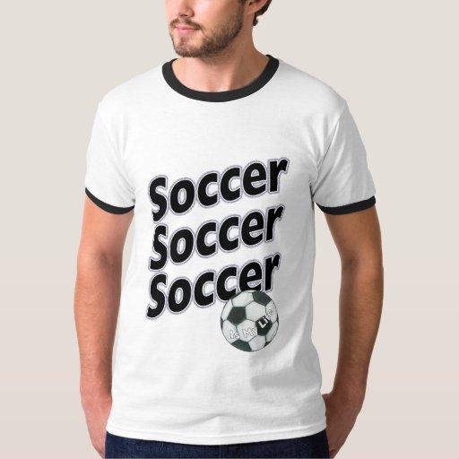 El fútbol es mi camiseta de la vida playeras