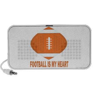 El fútbol es mi corazón mp3 altavoz