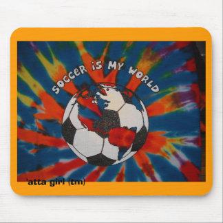 El fútbol es mi mundo mouse pad