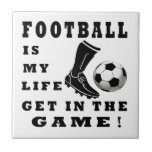 El fútbol es mi vida azulejos ceramicos