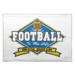 El fútbol es mi vida manteles individuales