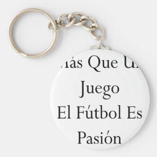 EL Futbol Es Pasion de la O.N.U Juego del Mas Que Llavero Redondo Tipo Pin