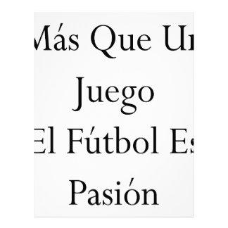 EL Futbol Es Pasion de la O N U Juego del Mas Que Membretes Personalizados