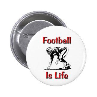El fútbol es vida pin