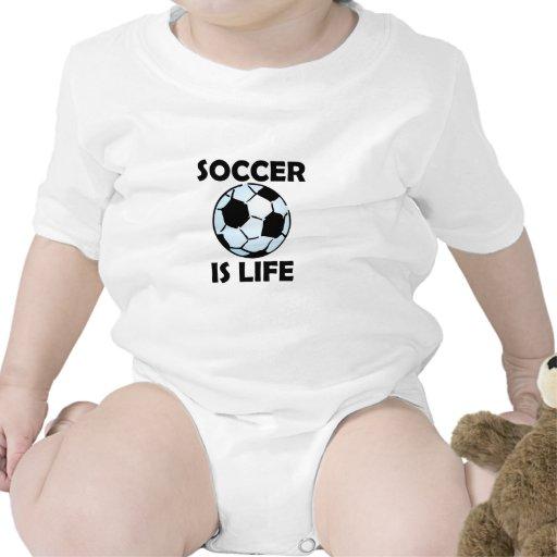 El fútbol es vida trajes de bebé