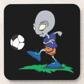 El fútbol está fuera de este mundo posavasos