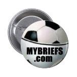 El fútbol informa el botón pins