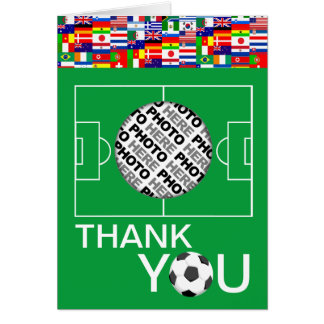 El fútbol le agradece añade la tarjeta de nota de