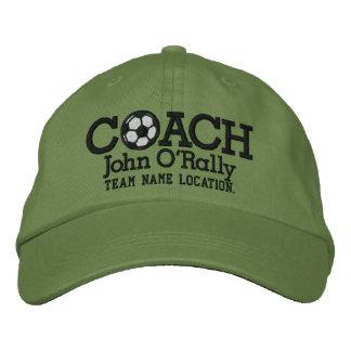 El fútbol personaliza al equipo del nombre del gor gorra bordada