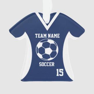 El fútbol se divierte el azul del jersey con la
