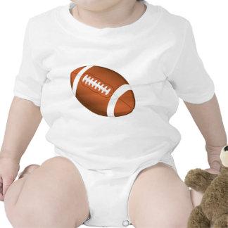 El fútbol se divierte el campo del juego de equipo trajes de bebé