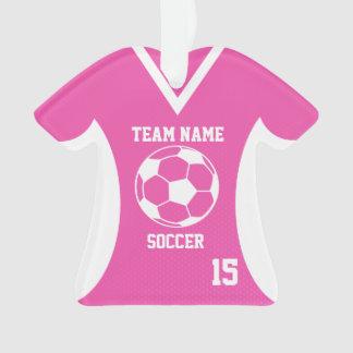 El fútbol se divierte rosa del jersey con la foto