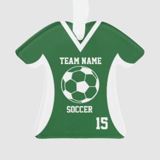 El fútbol se divierte verde del jersey con la foto