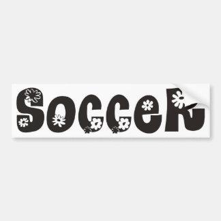 El fútbol se presenta pegatina para auto
