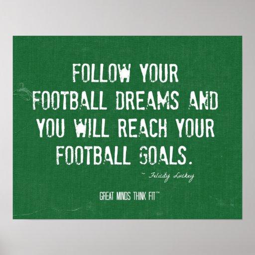 El fútbol soña el poster