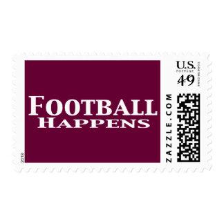 El fútbol sucede los regalos sello