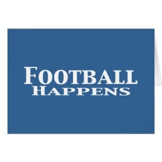 El fútbol sucede los regalos tarjeta