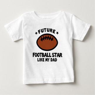 El fútbol tiene gusto del papá camisas