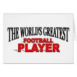 El futbolista más grande del mundo felicitaciones